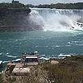 American Falls From Above The Maid by Barbara McDevitt