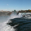 American Falls From Luna Island by Richard Andrews
