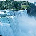 American Falls Niagara Falls Ny Usa by Panoramic Images