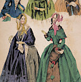 American Fashion Print by Granger