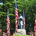 American Flag - Civil War Memorial -  Luther Fine Art by Luther Fine Art