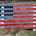 American Flag Country Style by Sylvia Thornton