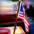 American Flag Focus by Susan Garren