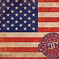 American Flag Made In China by Tony Rubino