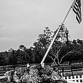 American Flag Monument by Jon Cody