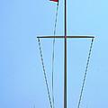 American Flag On Mast by Ben and Raisa Gertsberg