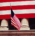 American Flag On The Front by Panoramic Images