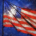 American Flag Photo Art 02 by Thomas Woolworth
