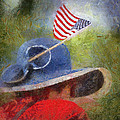 American Flag Photo Art 06 by Thomas Woolworth