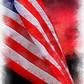 American Flag Photo Art 07 by Thomas Woolworth