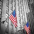 American Flags  by Jaroslav Frank