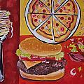 American Food Pop Art by Shannon Lee