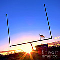 American Football Goal Posts by Olivier Le Queinec