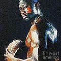 American Football Player by Dragica  Micki Fortuna