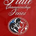 American Football State Championship Series Poster by Aloysius Patrimonio