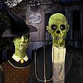 American Gothic Halloween by Gravityx9  Designs