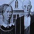 American Gothic In Colors by Rob Hans