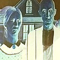 American Gothic In Negative by Rob Hans
