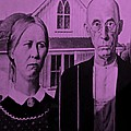 American Gothic In Pink by Rob Hans