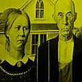 American Gothic In Yellow by Rob Hans