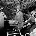 American Gunners Load A Shell by Everett