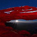 American Moonrise by Dustin  LeFevre