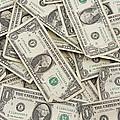 American One Dollar Bills by Keith Webber Jr