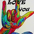 American Sign Language I Love You More by Eloise Schneider