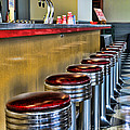 Americana - 1950's Diner by Paul Ward