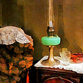 Americana - Still Life With Hurricane Lamp by Susan Savad