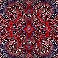 Americana Swirl Banner 1 by Sarah Loft