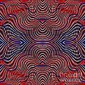Americana Swirl Design 10 by Sarah Loft