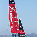 America's Cup Emirates Team New Zealand by Steven Lapkin