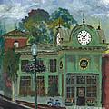 Amesbury Main Street  by Francois Lamothe