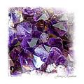 Amethyst Crystals 1. Elegant Knickknacks by Jenny Rainbow
