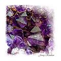 Amethyst Crystals. Elegant Knickknacks From Jenny Rainbow by Jenny Rainbow