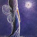 Amethyst Fairy By Shawna Erback by Shawna Erback