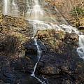 Amicalola Falls  Rainbow by Donna Brown