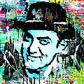 Amir Khan Dhoom 3 Pop Art By Minesh Pankhania by Minesh Pankhania