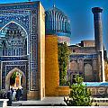 Amir Temur Mausoleum Uzbekistan by Ajay Bundiwal