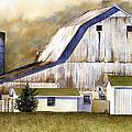 Amish Barn by Patti Bishop