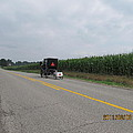 Amish Buggy With Small Back Cab by Tina M Wenger