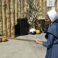 Amish Making Apple Butter by R A W M