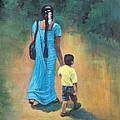 Amma's Grip Leads. by Usha Shantharam