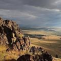 Among The Cliffs by Mark Eisenbeil