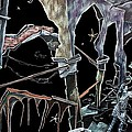 Amore - Dark Fantasy Drawings And Illustration - Dibujo Surrealista  by Arte Venezia