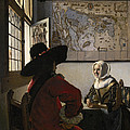 Amorous Couple by Vermeer