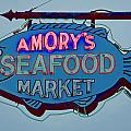 Amory Seafood Sign by Jerry Gammon