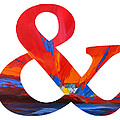 Ampersand Symbol Art No. 1 by Patricia Awapara