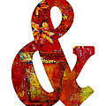 Ampersand Symbol Art No. 2 by Patricia Awapara